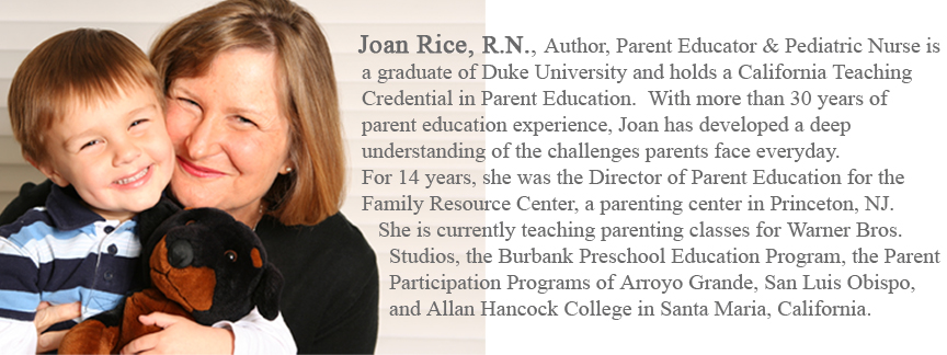 Parenting Solutions Author Joan Rice